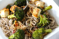 Broccoli & Tofu Teriyaki Bowl - Emma's Little Kitchen