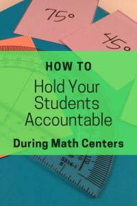 How to Keep Your Students Accountable During Math Stations Are you struggling to hold your students Math Stations, Math Centers, Math Teacher, Math Math, Teacher Binder, Math Games, Maths, Classroom Routines And Procedures, Framed Words