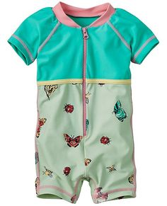 Simple Joys by Carters Baby and Toddler Maillot de bain 2 pi/èces Trunk and Rashguard