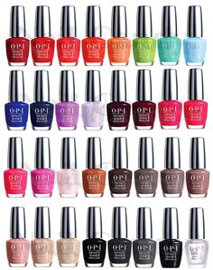 OPI Infinite Shine 2014 Collection