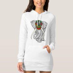 Elephant Graphic Dress