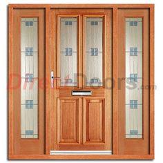 Derby Zinc Exterior Oak Door and Frame Set with Zinc Double Glazing | Do Frames and Oak doors  sc 1 st  Pinterest & Derby Zinc Exterior Oak Door and Frame Set with Zinc Double ... pezcame.com