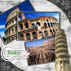 Italy Scrapbook