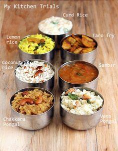 Tamil Nadu Pongal Meals
