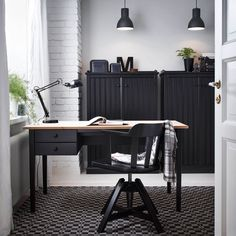 How To Create The Perfect Home Office - The Complete Guide  Whatever your style or how small or large your working space at home is, creating the perfect environment to work in will not only help keep you motivated but will also enhance your everyday wellbeing and happiness. #homeoffice #office #homestudy #officedesign #homedecor