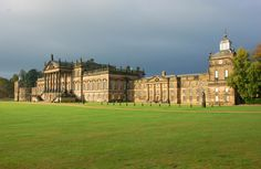 Wentworth Woodhouse, South Yorkshire, is the largest private house in the UK, a country house with the longest façade in all of Europe; a building that dwarfs Buckingham Palace, Chatsworth, Blenheim - even Versâílles. The original Jacobean house was re-built by Thomas Watson-Wentworth, 1st Marquess of Rockingham (1693-1750), and vastly expanded by his son, the 2nd Marquess, who was twice Prime Minister.