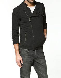 Black sweatshirt.  Jeans.  White tee.  Zara.  #mens  #fashion