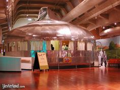 """Love the old homes """"of the future"""" - this one you can actually go see in Michigan"""