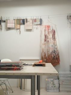 the mood garland in the back, lovely! Studio 903