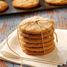 Spiced Almond Cookies Spice Cookies, No Bake Cookies, Yummy Cookies, Coconut Banana Bread, Spiced Almonds, Almond Meal Cookies, Something Sweet, Food Gifts, Spice Things Up
