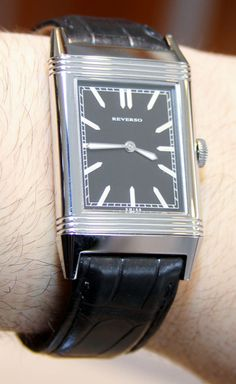 Jaeger-LeCoultre Mad Men Reverso Watch front
