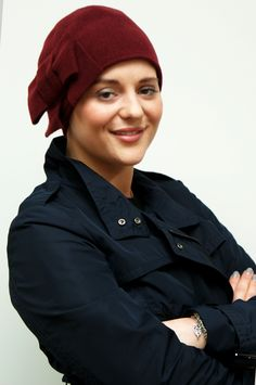 6c966d9d43a All NEW autumn winter colours in our classic Emerson hat for hair loss - so