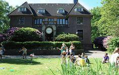 Sommerfest mit Vintage-Charme im märchenhaften Garten der Villa Mignon in Hamburg.