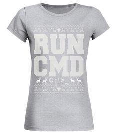 314b2757 Knitted RUN CMD Ugly Christmas Shirt Nerd Geek Computer computer  programming shirt,computer programming t