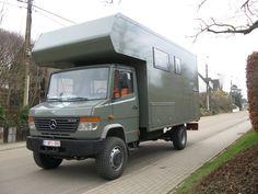 Mercedes Vario 814 4X4 Camper - Expedition Portal