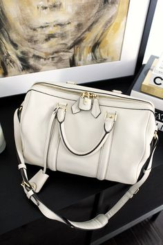 Le Fashion Blog Sofia Coppola Louis Vuitton SC Bag PM Shoulder Strap Lock The Real Real Consignment By Jenn Camp