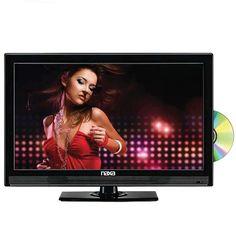 "15.6"" Naxa NTD-1553 LED AC/DC Widescreen ATSC TV w/DVD"