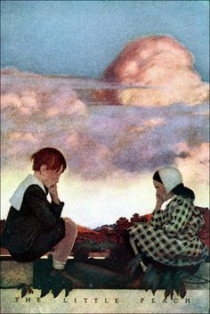 The Little Peach by Maxfield Parrish for Poems of Childhood by Eugene Field, 1904