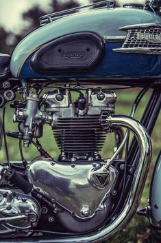 Archaic, expert, classic and Vintage Motorcycles - We advertise bicycles associated with a very special kind! Triumph Cafe Racer, Triumph Bobber, Triumph Bonneville, Triumph Motorcycles, Cafe Racers, Motorbike Parts, Motorcycle Engine, Motorcycle Design, Norton Motorcycle