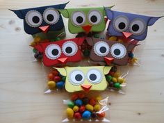 More owls! Source by brigitagraf Diy Gifts For Kids, Diy For Kids, Fete Ideas, Skin Care Cream, Kids And Parenting, 2nd Birthday, Stampin Up, Diy And Crafts, Goodies