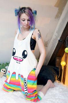Le pyjama de la blogueuse mode ! ~ Darkrevette