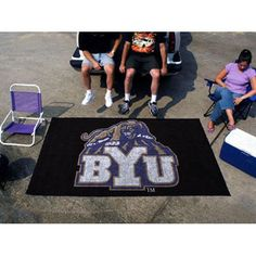Brigham Young Cougars NCAA Ulti-Mat Floor Mat (5x8')