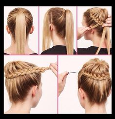 Step By Step Easy Hair Style Tutorials!!