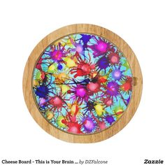 Cheese Board - This is Your Brain on Art