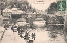 #Quimperlé (#Finistère), patronymes : Egleu, Floch, Fro, Gregeois, Guyon, Rollin #généalogie #challengeAZ #cartepostale #oldpostcard #cartepostaleancienne
