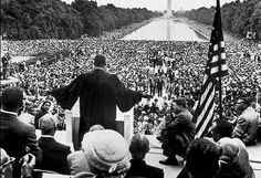"""Martin Luther King Jr:  """"I have a dream speech"""" which resulted in freedom for education, voting rights, equal protections and against the War in Vietnam."""