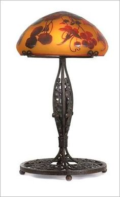 Lamp By Emile Galle 1