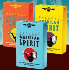 We are very happy to introduce American Spirit cigarette brand which brings great taste with good price along side it. Give it a shot and you'll become a fan!