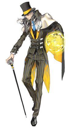 Male Magician from Trinity 2