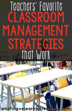 What are your tried and true classroom management strategies that work across most grade levels?  These are some of teachers'' favorite classroom management strategies as they take little effort to implement and are a foundation to a good relationship with students. via @whatilearned