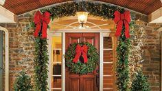 Winter Pine Cordless Garland frontgate
