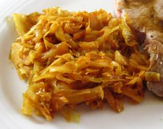 Cabbage Braised with Onions