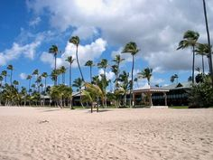 Pinneys #Beach with the #Four Seasons Resort located in the background.