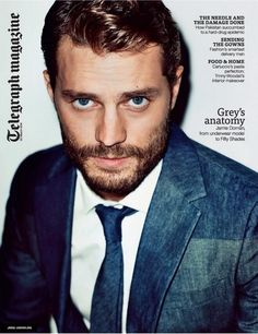 Mr Jamie Dornan post: on the cover of Telegraph mag, New Worlds stills, news about The Fall and more