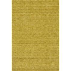 """Tonal Solid 100% Wool Accent Rug - Kiwi (Green) (3'6""""x5'6"""")"""