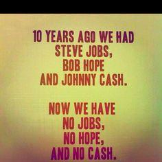 Sad, but true