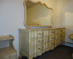 1960s French Provincial bedroom furniture, in the style and good ...