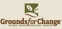"""Grounds for Change - Fair Trade Organic Coffee - """"To support social equity and environmental sustainability through fair trade, organic, shade grown coffee. Coffee Review, Fair Trade Coffee, Best Trade, Coffee Branding, Coffee Gifts, Coffee Design, Great Coffee, Fundraising, Organic"""