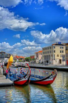 Aveiro. Os Moliceiros (Veneza de Portugal)