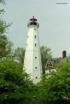 North Point Lighthouse in Milwaukee, Wisconsin