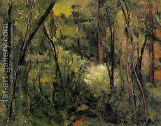 Paul Cezanne:In The Woods