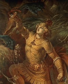 Beowulf and the dragon Tolkien, Saga, Last Battle, Beowulf, Anglo Saxon, Norse Mythology, Gods And Goddesses, Vikings, Creatures