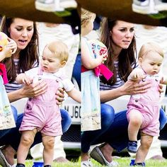 Kate and George at the Polo 15/6/14