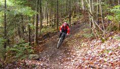 Lac Beauport vélo de montagne