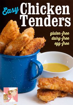 Easy Gluten-Free Chicken Tenders - Lexie's Kitchen | Gluten-Free Dairy-Free Egg-Free -
