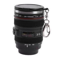 73ee527b6d 50ML Camera Lens 24-105mm 1:1 Scale Coffee Tea Mug Water Bottle Home